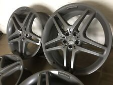 4 Originale AMG Cerchi 21 pollici Mercedes ML GLE w166 w164 GL w221 S c216 CL GLC