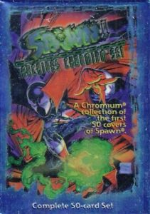 Spawn Archives Chromium Set Complete 50 Cards Factory Sealed Mcfarlane