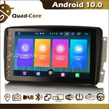 Autoradio tactile Android 10.0 Bluetooth TNT GPS WiFi CarPlay Mercedes W203 W463