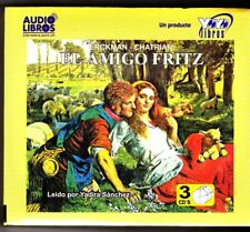 El Amigo Fritz (Spanish Edition) Audio Libros NEW / SEALED