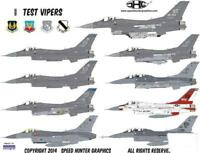 Speed Hunter Graphics 48005 1/48 decal Test Vipers for Tamiya