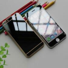 Front-Back Premium Plated Mirror Tempered Glass Full Cover Screen Protection