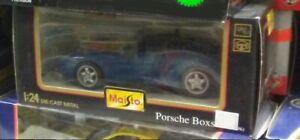 1:24 Maisto Porsche Boxster Die Cast Model Car