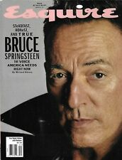 Esquire Magazine Bruce Springsteen James Baldwin Joe Alwyn Saddam Hussein 2019