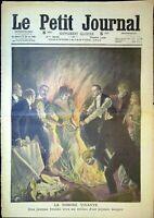 Le Petit Journal N°1000 du 16/1/1910 La torche vivante, Attaquer par un boa