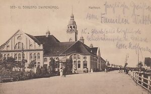Ansichtskarte  Pommern  Swinemünde   Kurhaus