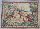 Antique rug/carpet/textile/tapestry European French Robert Four 1950
