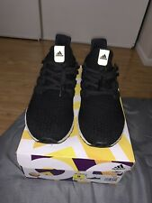 Adidas UltraBoost 4.0 Core F36153 Black Mens Running Gym Shoes Size 9 MSRP $180