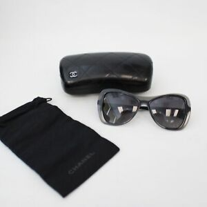 Women's CHANEL Black Polarized Oversized Sunglasses & Case 5388 c.501/s8 - C83
