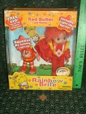 Rainbow Brite ~ RED BUTLER & ROMEO ~ DVD ~ Doll & Figure ~ 2003 ~Toy Play