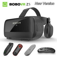 Virtual Reality Headset 120° VR Casque 3D Glasses Helmet For 4.7-6.2' Smartphone
