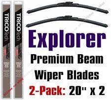 2005-2010 Ford Explorer Wipers 2-Pack Premium Beam Blades - 19200x2