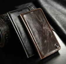 For One Plus 6 One Plus 3T Leather Magnetic Flip Wallet Case Card Holder Cover