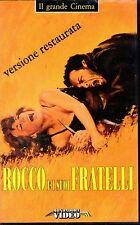 Rocco and His Brothers (1960) VHS Mondadori video Restored Luchino Visconti