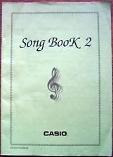 Original Casio Song Book 2 for Ctk, Wk Casio Keyboards, 44 Pages, 10 Songs
