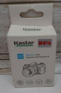 Kastar Replacement Battery for Canon BP-511 New open box