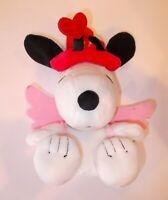 "Hallmark Peanuts Snoopy Valentine's Cupid 9"" Plush Toy"