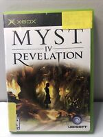 Myst IV: Revelation - Original Xbox Game - Complete & Tested