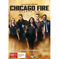 Chicago Fire : Season 6 (DVD, 2018, 6-Disc Set)