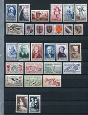 FRANCE 1953 MNH COMPLETE YEAR 28 Stamps Mi cat EURO 127