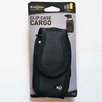Nite Ize Clip Case Cargo VelcroTall Cell Phone Holder W' Holster Belt Clip New