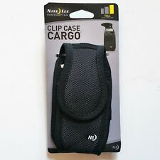 Nite Ize Clip Case Cargo VelcroTall Cell Phone Holder W' Holster Belt Clip New