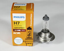 PHILIPS H7 12V55W +30% PX26d headlight halogen premium vision lamp bulb 55W
