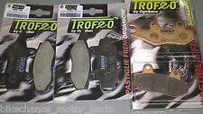 kit pastiglie Trofeo anteriori + posteriori yamaha XTZ 750 supertenere '