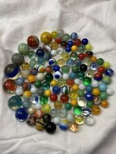 Vintage Marbles Vintage Lot of 74 Marbles Lot #13 Large Collection of Marbles Glass Marbles