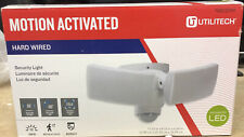Utilitech Motion Activated Hard Wired Integrated Led Security Light - Brand New