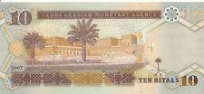 Saudi Arabien / Saudi Arabia - 10 Riyals 2007 UNC - Pick 33a
