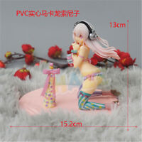 "Anime Super Sonico PVC Action Figure 5"" Model Toy Cake Decor Kids Birthday Gift"