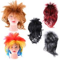 Mullet Wig 80s Fancy Dress Women Men Party Costume Rock Accessory Punk Cospaly