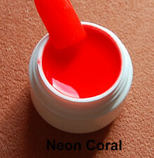 UV LED Gel  Neon Coral 5 ml  Color Gel