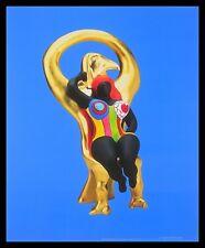 Niki de Saint Phalle Horus et sa grace Poster Bild Kunstdruck und Rahmen 58x48cm