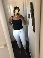 Leobtain Bandage D/écoupe Taille Haute Short Creux Yoga Shorts Extensible Sport Fitness Pantalon