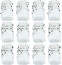 24pc Mini Glass Mason Jar Centerpiece Party Favor Candle Making Food Storage LOT