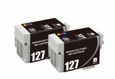 Reman Epson 127 Black&Color Ink Printer WorkForce WF60 WF630 WF645 WF3520 WF3530