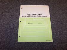 2002-2003 Toyota Camry Solara Shop Service Collision Damage Repair Manual