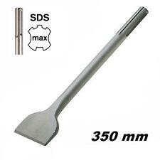 SCALPELLO CON ATTACCO SDS MAX LUNGHEZZA 350 mm E PUNTA PIATTA A PALETTA 50 mm