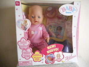 VINTAGE  BABY  BORN  GIRL DOLL  (MAGIC EYES)  BRAND NEW IN BOX (FREE POSTAGE)