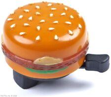 Hamburger Bicycle Fun Bell for Mtb Road Cruiser Bikes Burger / Cheeseburger