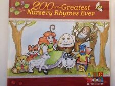 200 of the Greatest Nursery Rhymes Ever - ABC for Kids 2CD Set - Christmas Gift