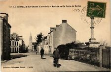 CPA  La Chapelle-sur-Erdre (Loire-inf.) - Arrivée par la Route de Nantes(587980)
