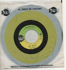 VAN McCOY the hustle*hey girl,come and get it 1975 GUATEMALA AVCO*OILA ISSUE