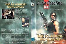 (DVD) Die Klapperschlange - Kurt Russell, Lee Van Cleef, Ernest Borgnine (1981)