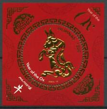 More details for philippines 2020 mnh year of ox 2021 stamps chinese lunar new year 1v m/s