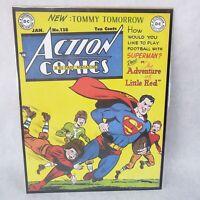 "ACTION COMICS #128 1949 SUPERMAN VINTAGE DC COMICS SERIES 11""X14"" POSTER"
