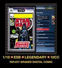 Topps Star Wars #39 DARTH VADER card Trader Marvel Comics Tapjoy CGC 10 graded