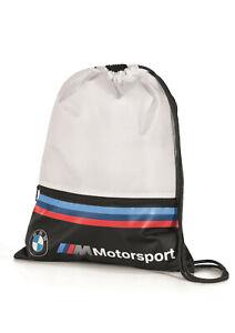 SALE! ORIGINAL BMW M MOTORSPORT SPORTBEUTEL Reißverschlusstasche 80282461128